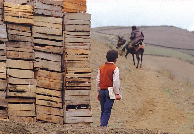 Dónde está la casa de mi amigo - Ahmad sigue al burro del carpintero