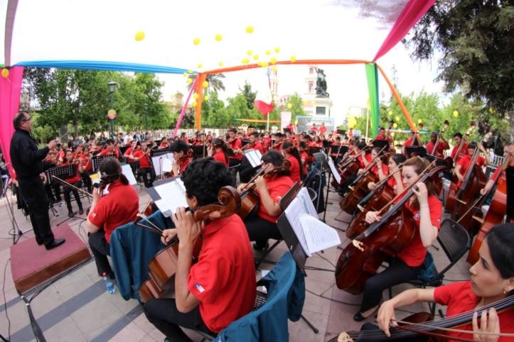 Orquesta sinfónica estudiantil de Rancagua