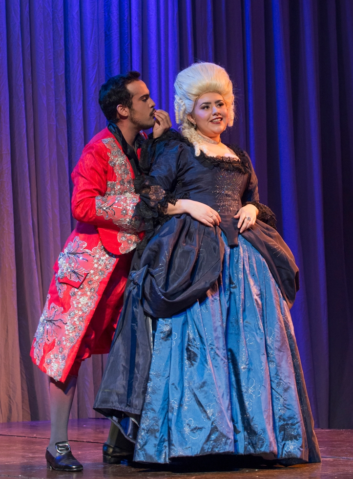 Don Giovanni y Doña Elvira