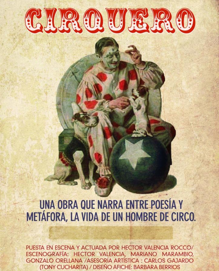 Cirquero afiche